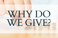 why do we give