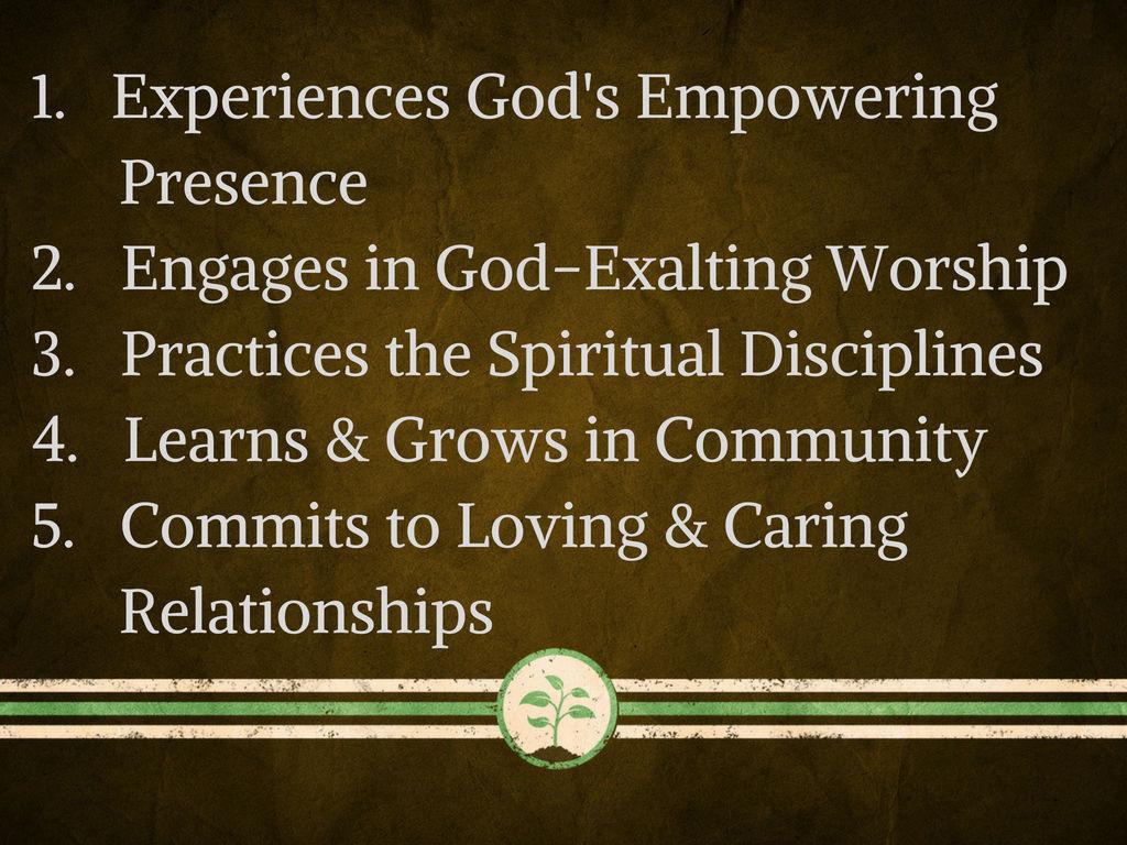 5 Characteristics of a disciple