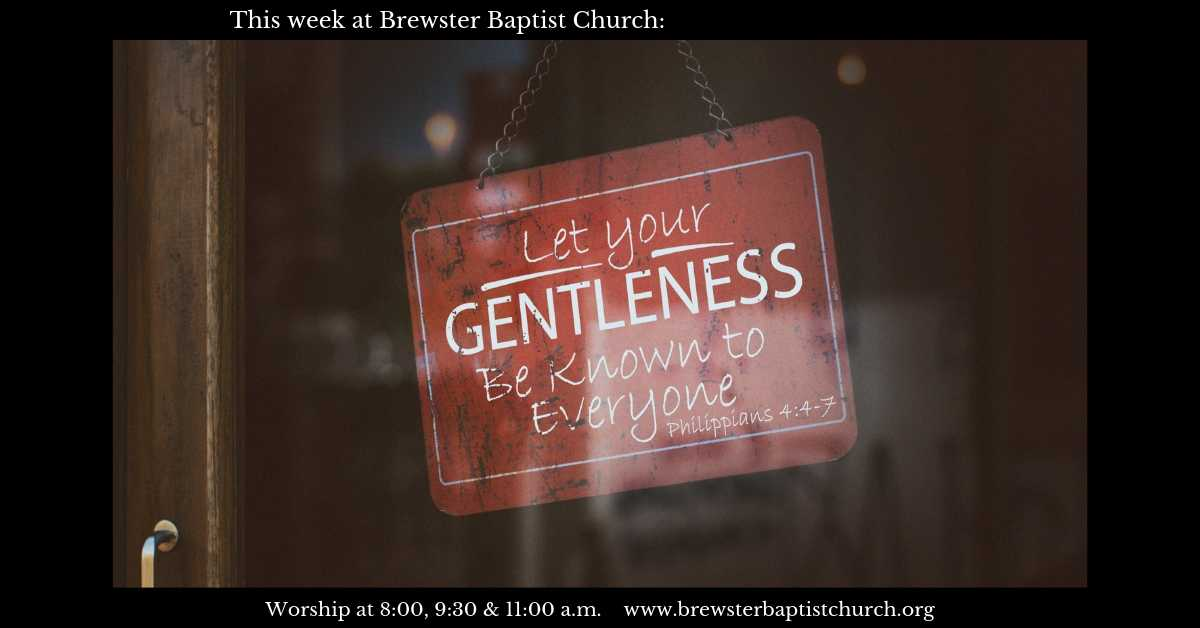 Messages and Sermons - Brewster Baptist Church