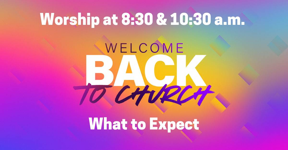 Welcome back-expect