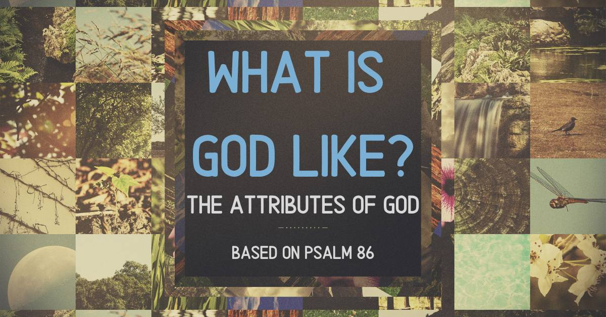 What Is God Like_